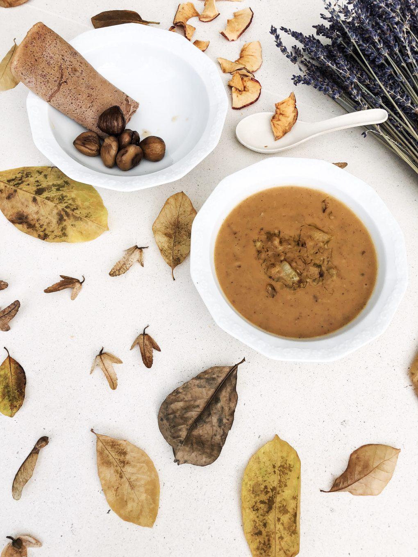Chestnut Soup - Anna Lewandowska
